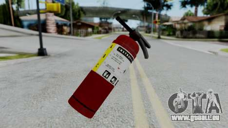 No More Room in Hell - Fire Extingusher für GTA San Andreas