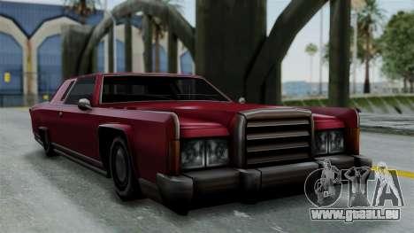 Remington Las Vivas pour GTA San Andreas sur la vue arrière gauche
