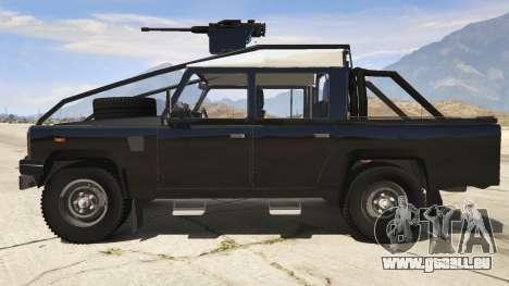 Land Rover 110 Pickup Armoured für GTA 5