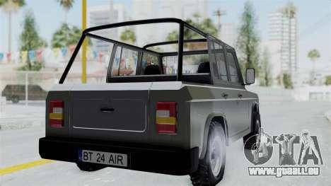 Aro 241 1996 pour GTA San Andreas laissé vue