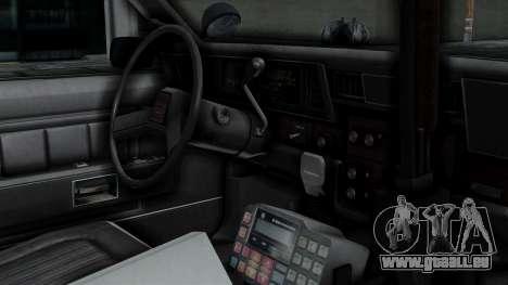 Chevrolet Impala 1985 SFPD pour GTA San Andreas vue de droite