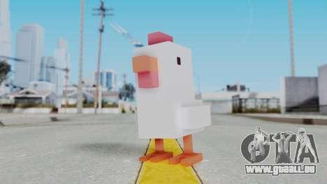Crossy Road - Chicken für GTA San Andreas zweiten Screenshot