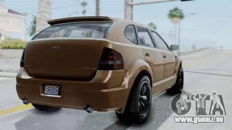 GTA 5 Vapid Radius pour GTA San Andreas laissé vue