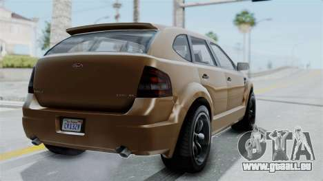 GTA 5 Vapid Radius für GTA San Andreas linke Ansicht