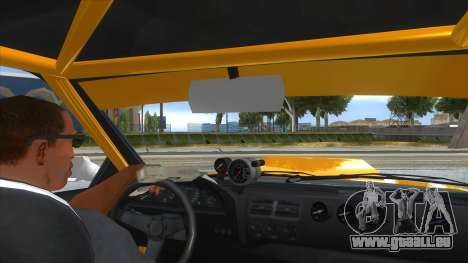 GTA V Karin Sultan RS 4 Door für GTA San Andreas obere Ansicht