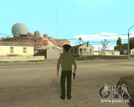 Senior warrant officer danyluk für GTA San Andreas dritten Screenshot