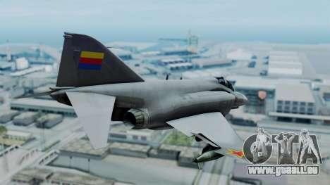 F-4E Phantom II Royal Noord-Hollandian Air Force pour GTA San Andreas laissé vue
