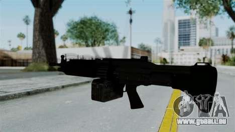 GTA 5 Combat MG für GTA San Andreas dritten Screenshot