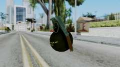 No More Room in Hell - Grenade pour GTA San Andreas