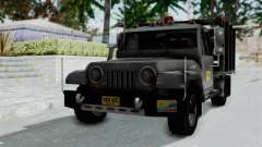 Jeep con Estacas Stylo Colombia pour GTA San Andreas
