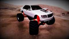 Mercedes-Benz W140 Monster Truck