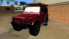 Mercedes-Benz G500 Off Road V3.0 für GTA San Andreas