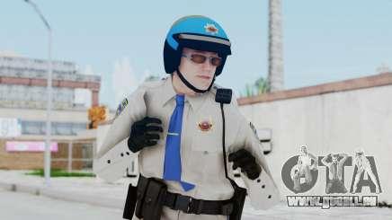 GTA 5 Cop-Biker pour GTA San Andreas