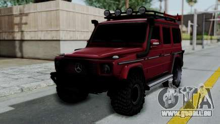 Mercedes-Benz G500 Off-Road v2.0 für GTA San Andreas