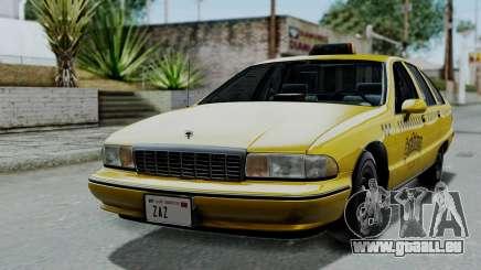 Chevrolet Caprice 1991 Taxi für GTA San Andreas