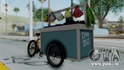 Gerobak Sayur (Vegetable Carts) pour GTA San Andreas
