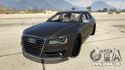 2013 Audi S8 4.0TFSI Quattro pour GTA 5
