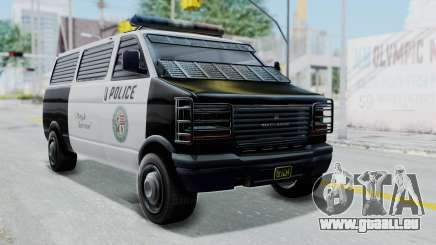 GTA 5 Declasse Burrito Police Transport IVF pour GTA San Andreas