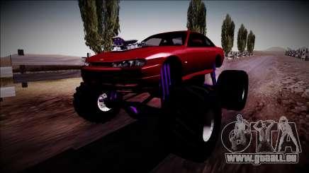Nissan Silvia S14 Monster Truck für GTA San Andreas