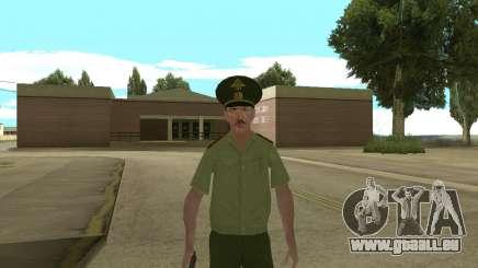 La haute adjudant danyluk pour GTA San Andreas