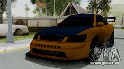 GTA 5 Karin Sultan RS Drift Big Spoiler für GTA San Andreas