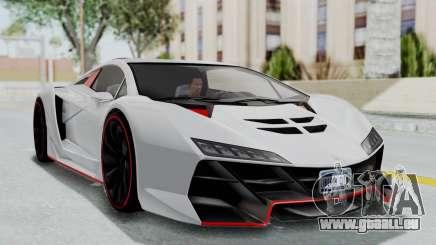 GTA 5 Zentorno Tron pour GTA San Andreas