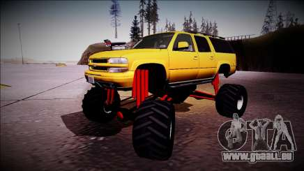 2003 Chevrolet Suburban Monster Truck pour GTA San Andreas