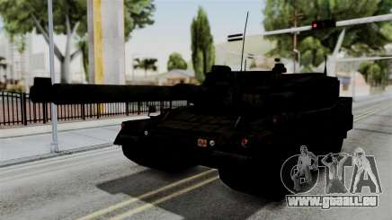 Point Blank Black Panther Rusty IVF pour GTA San Andreas