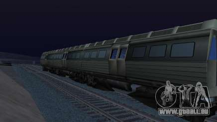 Batman Begins Monorail Train Vagon v1 für GTA San Andreas