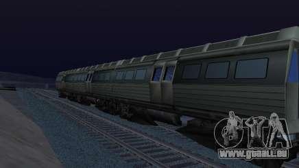 Batman Begins Monorail Train Vagon v1 für GTA San Andreas