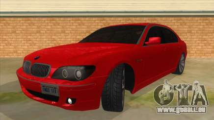 BMW 760 LI für GTA San Andreas