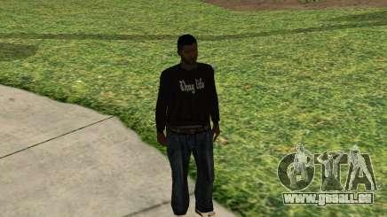 Black Madd Dogg (Thug life) pour GTA San Andreas