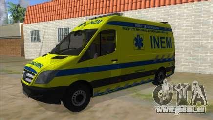 Mercedes-Benz Sprinter INEM Ambulance für GTA San Andreas