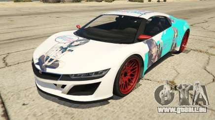 OreGairu painted Jester2 pour GTA 5