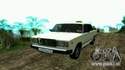 VAZ 2107 Taxi pour GTA San Andreas