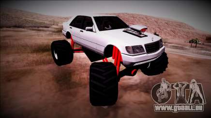 Mercedes-Benz W140 Monster Truck für GTA San Andreas
