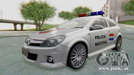 Opel-Vauxhall Astra Policia für GTA San Andreas