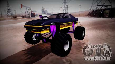GTA 5 Imponte Ruiner Monster Truck pour GTA San Andreas