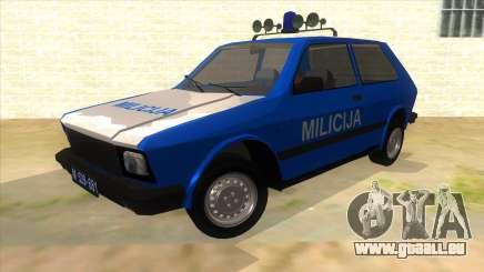 Yugo Koral Police pour GTA San Andreas