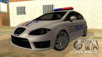 Seat Leon Cupra Romania Police für GTA San Andreas
