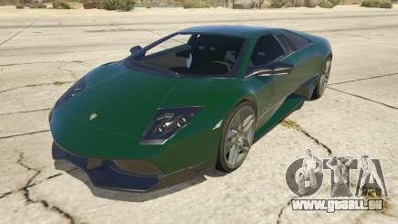 2010 Lamborghini Murcielago LP 670-4 SV pour GTA 5