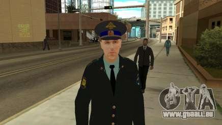 La Peau Est Sergei Glukharev pour GTA San Andreas