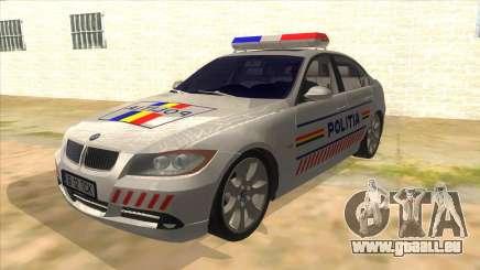 BMW 330XD Romania Police pour GTA San Andreas