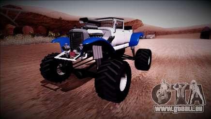 GTA 5 Albany Franken Stange Monster Truck für GTA San Andreas