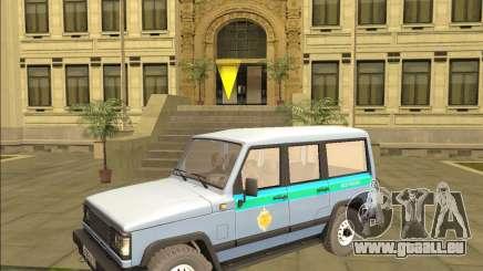 DER UAZ 3170 FSB für GTA San Andreas