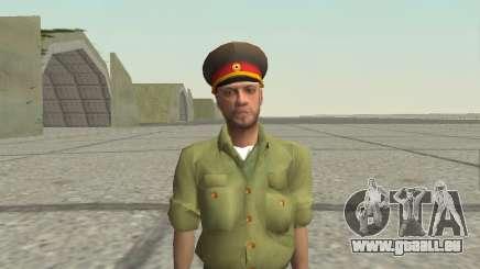 Offizier der Streitkräfte der Russischen Föderation für GTA San Andreas