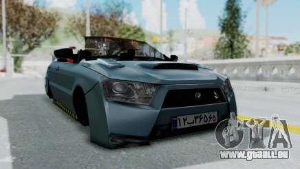 Ikco Dena Tuning pour GTA San Andreas