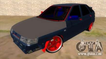 VAZ 2112 Hobo pour GTA San Andreas