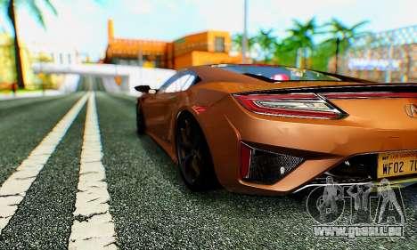 ENB B.M.S. pour GTA San Andreas deuxième écran
