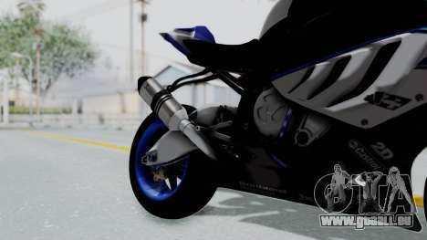 BMW S1000RR HP4 pour GTA San Andreas vue de droite